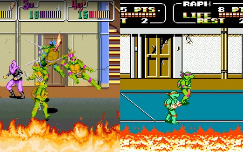 Most Popular Nintendo Games - Teenage Mutant Ninja Turtles