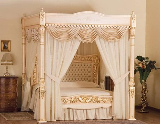 Most Expensive Beds - Baldacchino Supreme Bed – $6.3 million