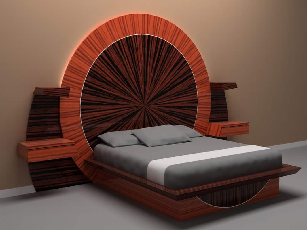 Most Expensive Beds - Parnian Furniture Bed – $210,000