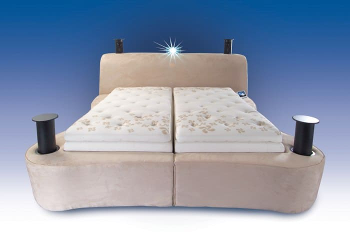 Most Expensive Beds - The Starry Night Sleep Technology Bed – $50,000