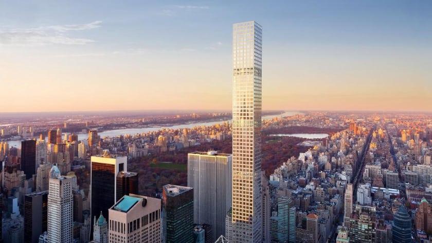 Most Expensive Penthouses - 432 Park Avenue Penthouse, New York – $95 Million