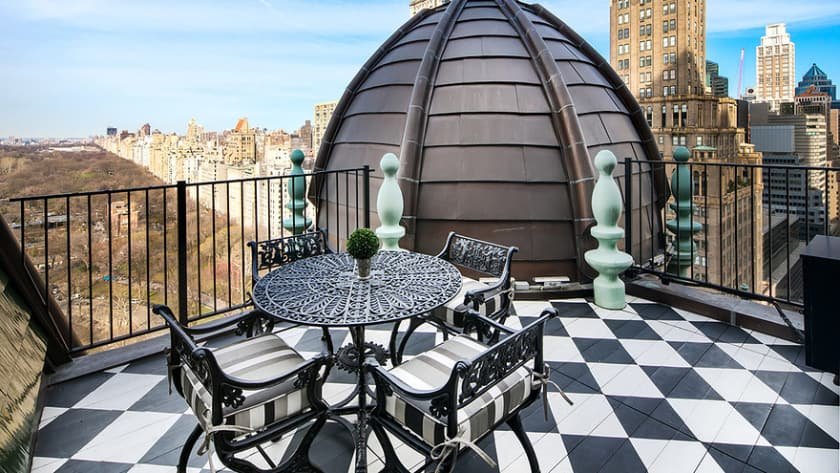 Most Expensive Penthouses - Dome Penthouse at the Plaza New York – $80 Million