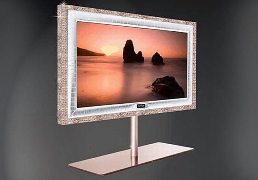 Most Expensive TVs - Stuart Hughes Prestige HD Supreme Rose Edition – $2.26 Million